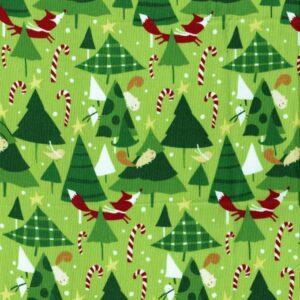 tessuto-natalizio-verde